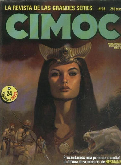 Cover for Cimoc (NORMA Editorial, 1981 series) #39