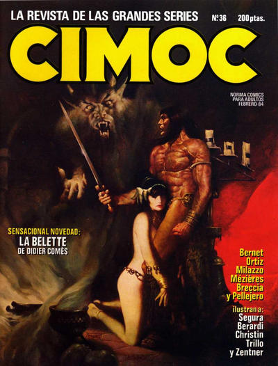 Cover for Cimoc (NORMA Editorial, 1981 series) #36