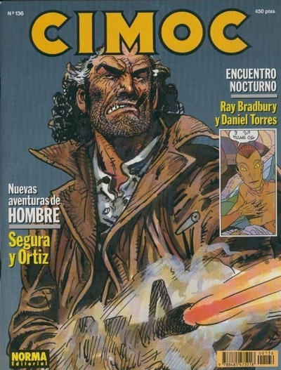 Cover for Cimoc (NORMA Editorial, 1981 series) #136
