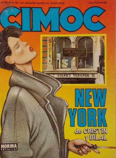 Cover for Cimoc (NORMA Editorial, 1981 series) #80