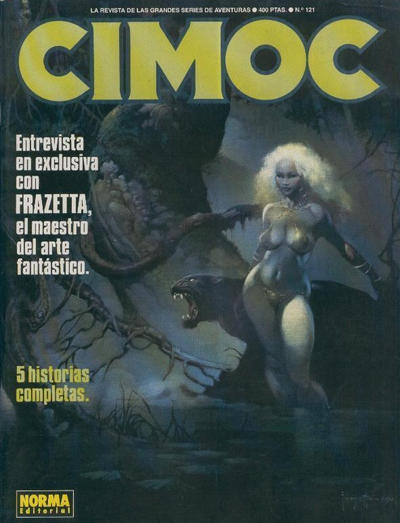 Cover for Cimoc (NORMA Editorial, 1981 series) #121