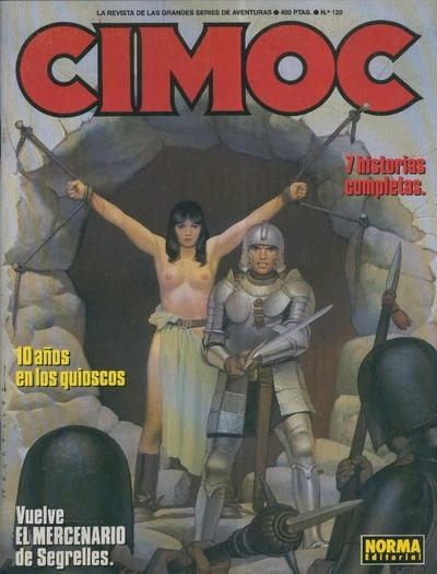 Cover for Cimoc (NORMA Editorial, 1981 series) #120