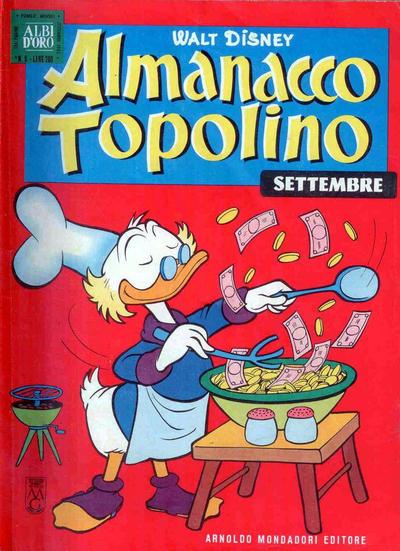 Cover for Almanacco Topolino (Arnoldo Mondadori Editore, 1957 series) #81