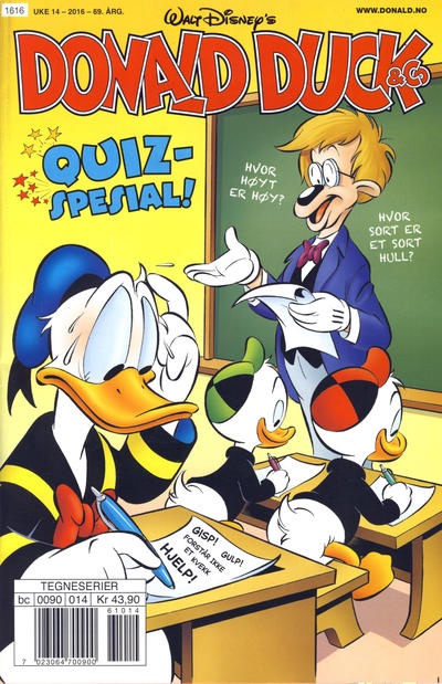 Cover for Donald Duck & Co (Hjemmet / Egmont, 1948 series) #14/2016