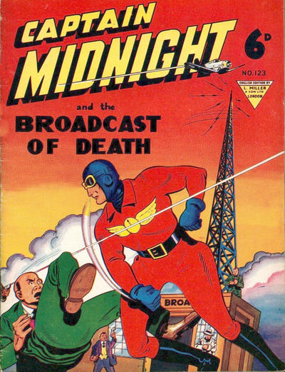Cover for Captain Midnight (L. Miller & Son, 1950 series) #123