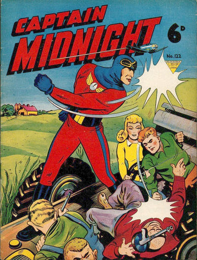 Cover for Captain Midnight (L. Miller & Son, 1950 series) #122