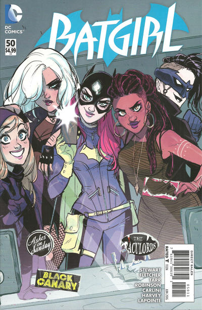 Cover for Batgirl (DC, 2011 series) #50