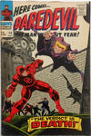 Cover for Daredevil (Marvel, 1964 series) #20 [British]