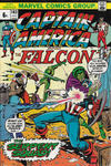 Cover for Captain America (Marvel, 1968 series) #163 [British Price Variant]