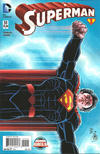 Cover for Superman (DC, 2011 series) #51 [John Romita Jr Variant Cover]
