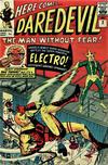 Cover for Daredevil (Marvel, 1964 series) #2 [British]