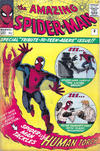Cover for The Amazing Spider-Man (Marvel, 1963 series) #8 [British Price Variant]