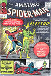 Cover for The Amazing Spider-Man (Marvel, 1963 series) #9 [British]