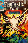 Cover for Fantastic Four (Marvel, 1961 series) #53 [British Price Variant]