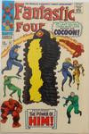 Cover for Fantastic Four (Marvel, 1961 series) #67 [British Price Variant]