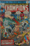 Cover for The Champions (Marvel, 1975 series) #3 [British Price Variant]