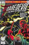Cover for Daredevil (Marvel, 1964 series) #168 [British Price Variant]