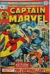 Cover for Captain Marvel (Marvel, 1968 series) #30 [British Price Variant]