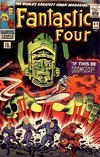 Cover for Fantastic Four (Marvel, 1961 series) #49 [British Price Variant]
