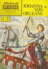 Cover for Illustrierte Klassiker [Classics Illustrated] (BSV - Williams, 1956 series) #11 - Johanna von Orleans [Gelbe Leiste]