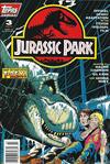 Cover for Jurassic Park (Topps, 1993 series) #3