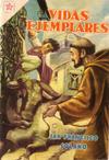 Cover for Vidas Ejemplares (Editorial Novaro, 1954 series) #37