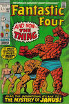 Cover for Fantastic Four (Marvel, 1961 series) #107 [British Price Variant]