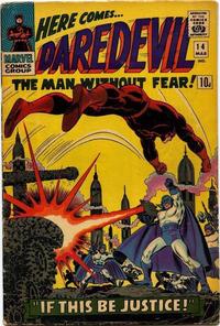 Cover Thumbnail for Daredevil (Marvel, 1964 series) #14 [British]