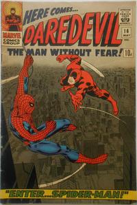 Cover Thumbnail for Daredevil (Marvel, 1964 series) #16 [British]