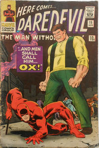 Cover Thumbnail for Daredevil (Marvel, 1964 series) #15 [British]