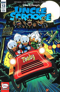 Cover Thumbnail for Uncle Scrooge (IDW, 2015 series) #13 [Subscription Cover]