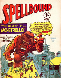 Cover Thumbnail for Spellbound (L. Miller & Son, 1960 ? series) #26