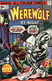 Cover Thumbnail for Werewolf by Night (Marvel, 1972 series) #32 [British]