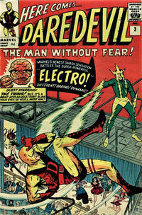 Cover Thumbnail for Daredevil (Marvel, 1964 series) #2 [British]