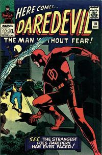 Cover Thumbnail for Daredevil (Marvel, 1964 series) #10 [British]