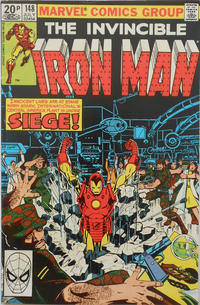 Cover Thumbnail for Iron Man (Marvel, 1968 series) #148 [British]