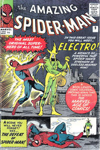 Cover Thumbnail for The Amazing Spider-Man (Marvel, 1963 series) #9 [British]