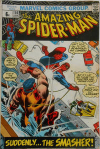 Cover Thumbnail for The Amazing Spider-Man (Marvel, 1963 series) #116 [British Price Variant]