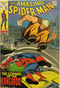 Cover for The Amazing Spider-Man (Marvel, 1963 series) #81 [Regular Edition]