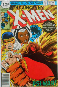 Cover Thumbnail for The X-Men (Marvel, 1963 series) #117 [British]