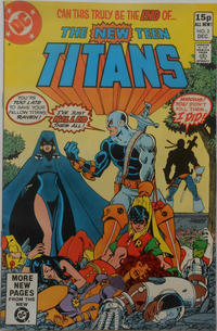 Cover Thumbnail for The New Teen Titans (DC, 1980 series) #2 [British]