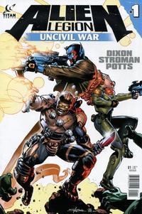 Cover Thumbnail for Alien Legion: Uncivil War (Titan, 2014 series) #1