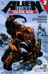 Cover Thumbnail for Alien Legion: Uncivil War (Titan, 2014 series) #2