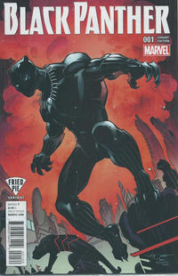 Cover Thumbnail for Black Panther (Marvel, 2016 series) #1 [Fried Pie Exclusive Larry Stroman Variant]