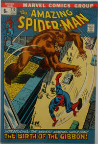 Cover Thumbnail for The Amazing Spider-Man (Marvel, 1963 series) #110 [British Price Variant]