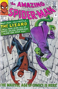 Cover Thumbnail for The Amazing Spider-Man (Marvel, 1963 series) #6 [British]