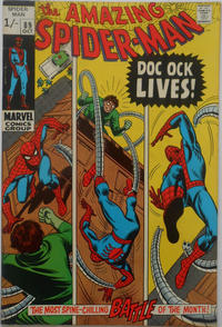 Cover for The Amazing Spider-Man (Marvel, 1963 series) #89 [Regular Edition]