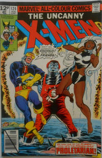 Cover Thumbnail for The X-Men (Marvel, 1963 series) #124 [British]