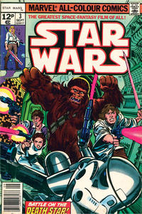 Cover Thumbnail for Star Wars (Marvel, 1977 series) #3 [British]