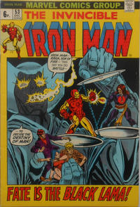 Cover for Iron Man (Marvel, 1968 series) #53 [Regular Edition]